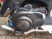 Vespa px200e engine