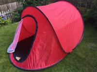 Pop up festival tent / playtent 150x220