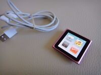 Apple iPod nano Touch (6th generation) in Excellent Condition.