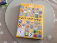 Wii U super Mario maker game