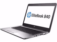 HP Elitebook 840 . i7 5th gen- 16GB - 256GB SSD . Windos 10 pro - Office 2016 - adobe