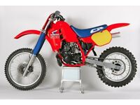 Honda CR500 rolling chassis (help)
