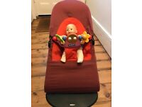 Baby bjorn bouncer chair with toy rarely used
