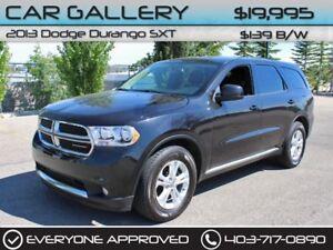 2013 Dodge Durango SXT $139B/W QUICK  EASY FINANCING-INSTANT APP