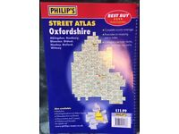Philip's Street Atlas- OXFORDSHIRE
