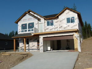 Brand New 3 bedroom in Hillcrest Heights Salmon Arm