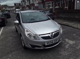 Vauxhall Corsa 1.2 i 16v Club 3dr (06-10) Low Mileage, Cheap Insurance and tax, Good Fuel Economy