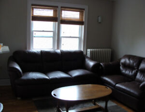 2 BR bright, furnished suite all inclusive