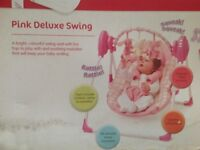 Baby swing (from birth onwards)