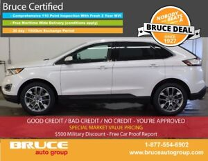 2015 Ford Edge Titanium 3.5L 6 CYL AUTOMATIC AWD HEATED/COOLED S