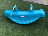 Tikes whale seesaw