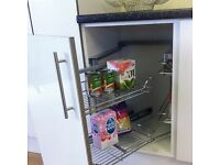 Hafele Pull and Swing Corner Storage Unit - For 1000mm Cabinet Width - Left Hand