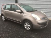 2006 NISSAN NOTE 1.4 SE 2 CAREFUL OWNERS 12 MONTHS BEAUTIFUL CONDITION