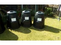 New 220 litre compost bins 3 available