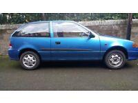 Suzuki Swift GLS 1L 2002 for parts or repair. MOT to 17 Aug 17.