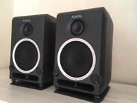 Focal CMS40 studio monitors