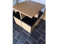 Quad style kitchen table & stools