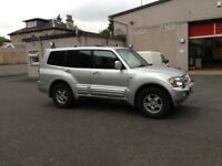Shogun 3.2 DID manual LWB 7 seater