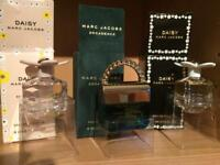3 Marc Jacobs miniature perfumes