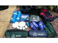 CAMPING EQUIPMENT (MOST BRAND NEW)