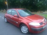 2005 Renault Megane 1.5 dci expression 5 door hatchback # £30 Tax a year model # 70 mpg # cheap ins