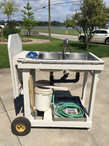 Mobile Fish/ Game Cleaning Station