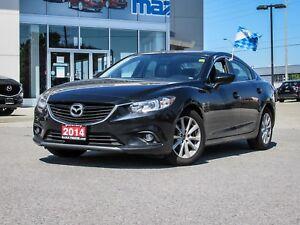 2014 Mazda Mazda6 GS, LUXURY PKG, NAVIGATION