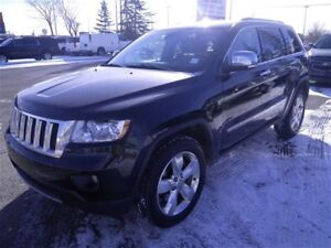 2013 Jeep Grand Cherokee Overland|NAV|Leather|Sunroof|Camera