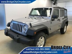 2014 Jeep WRANGLER UNLIMITED Sport- 4x4 Summer Ride! A/C!