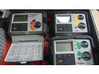 MEGGER MIT320 RCDT320 & LT320 3 Testers