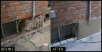 CONCRETE,CEMENT REPAIR(parging)