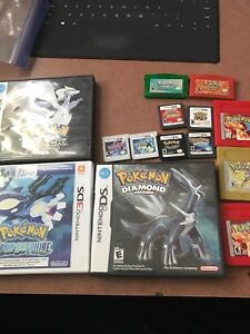 Nintendo Pokemon games ds 3ds gameboy advance