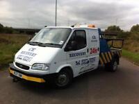 2000 W Reg Ford Transit Crewcab Spec Lift Recovery Truck