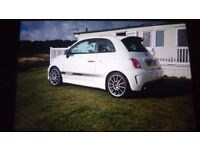 2011 500 Abarth with essesse upgrades, leather seats, etc - top spec.