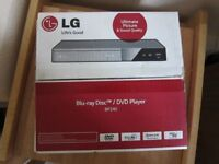 LG Bluray/DVD Player