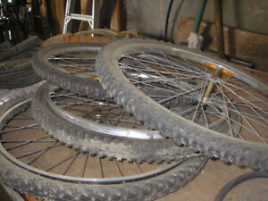 Bike Rims with Tires