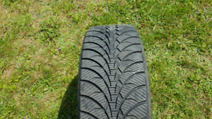 WinterTire 235/50R18 Bridgestone Ultra-Grip Ice w rims low km!
