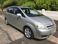 2005 TOYOTA COROLLA VERSO T3 2.0 D4D MOT UNTIL JUNE