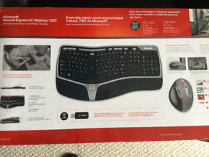 Microsoft Wireless Ergonomic Keyboard and Mouse