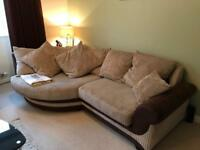 2 large comfy sofas