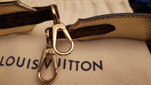 Louis Vuitton Bandouliere strap in gold Epi & Monogram Canvas