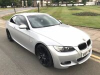 57 REG BMW 325I PETROL COUPE E92 M SPORT XENONS SILVER VERY CLEAN NOT 318I 320I 330I 320D 325D 330D