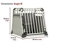 Pro Line Eagle Medium Dog Crate - TUV crash tested