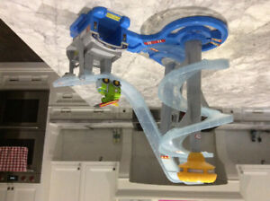 Little Tikes Airplane Ramp and Fisher Price Airport