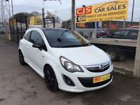 Vauxhall corsa limited edition 1.2 sxi 2013 one owner 40000 fsh full year mot mntcar fully serviced