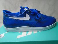 Nike Lunar Oneshot Skate Boarding Trainers Royal Blue/White 7