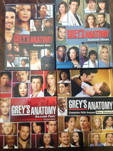 Four complete seasons of Grey's Anatomy