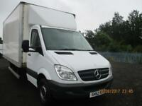 MERCEDES SPRINTER 313CD X/LWB WITH 17 FOOT BOX £9950+VAT