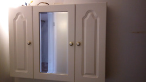 vanity mirror with shelves
