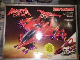 1980's Vintage (Bluebird) Manta Force REDVENOM